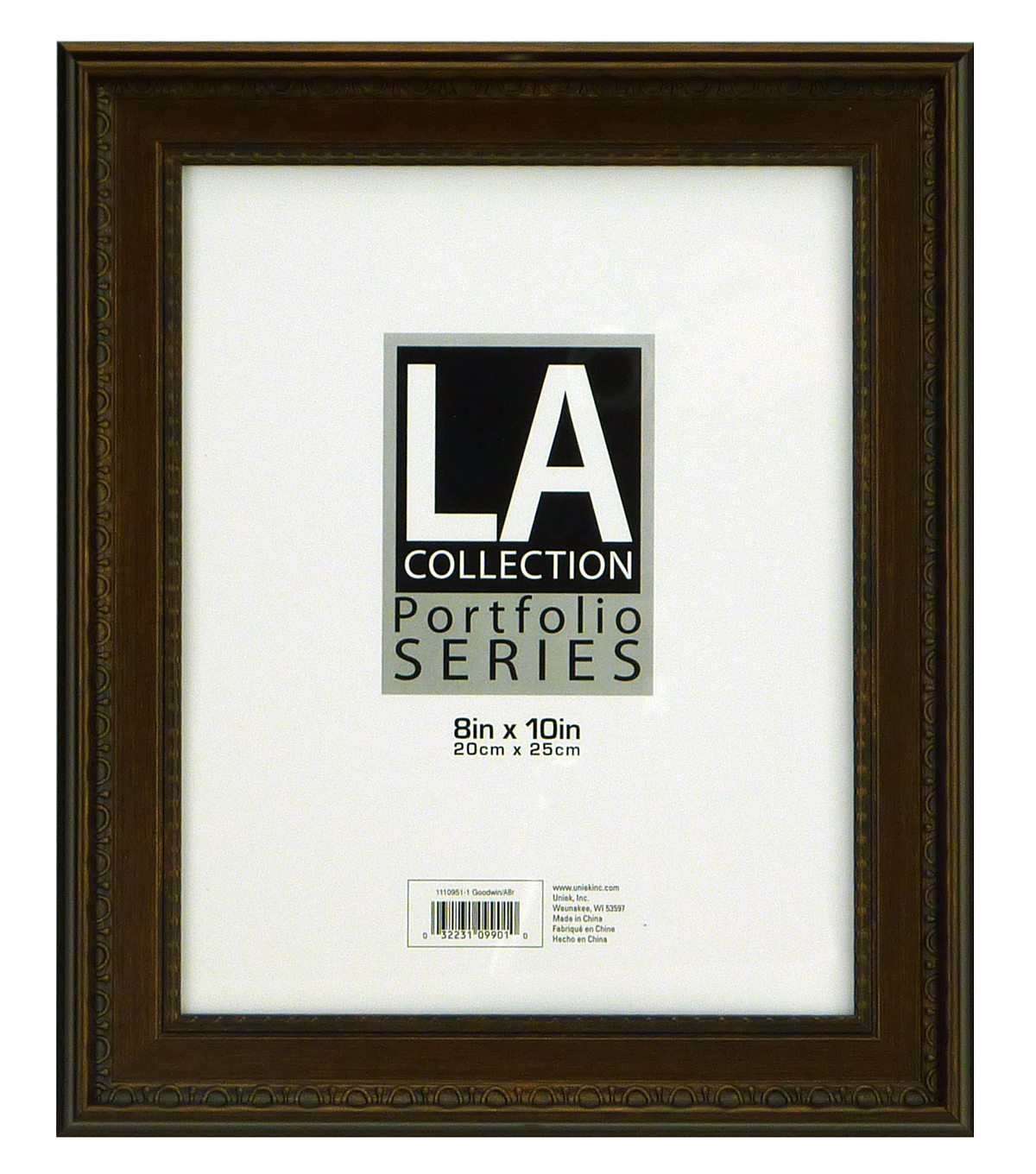 LA Goodwin Tabletop Frame 8X10-Bronze