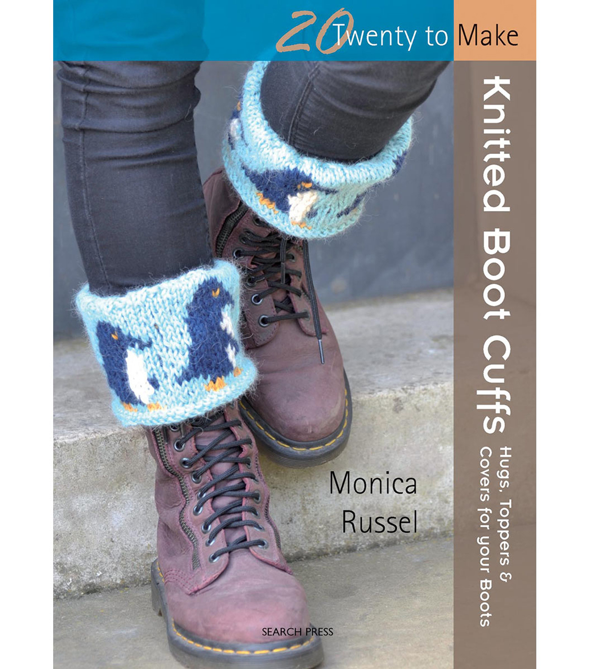 Knitted Boot Cuffs Book (20 To Make)