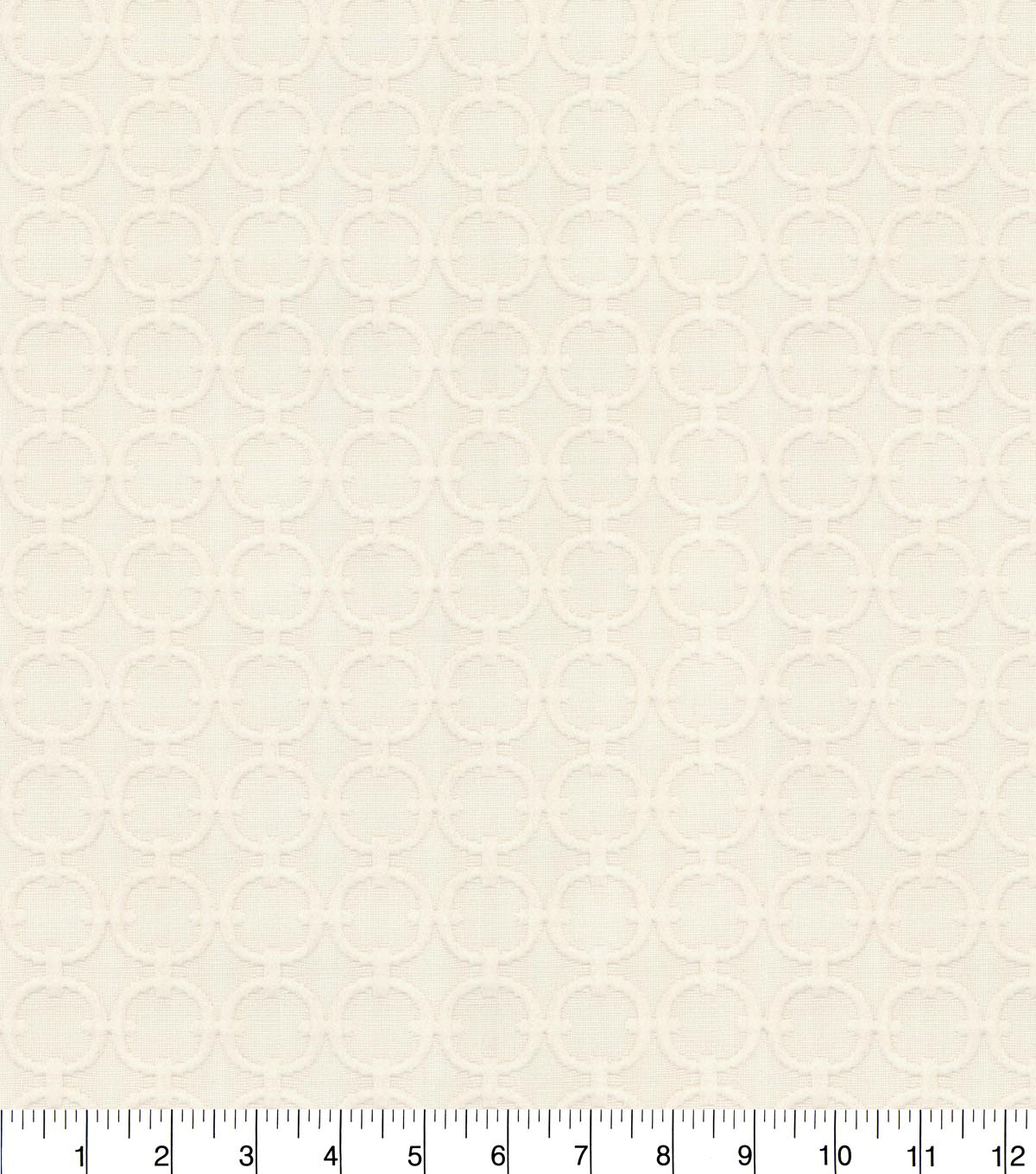 Waverly® Upholstery Fabric 54''-Chalk Full Circle
