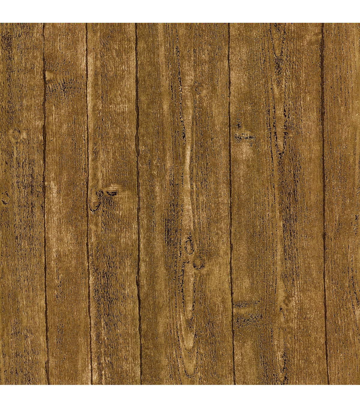 Ardennes Light Brown Wood Panel Wallpaper Sample