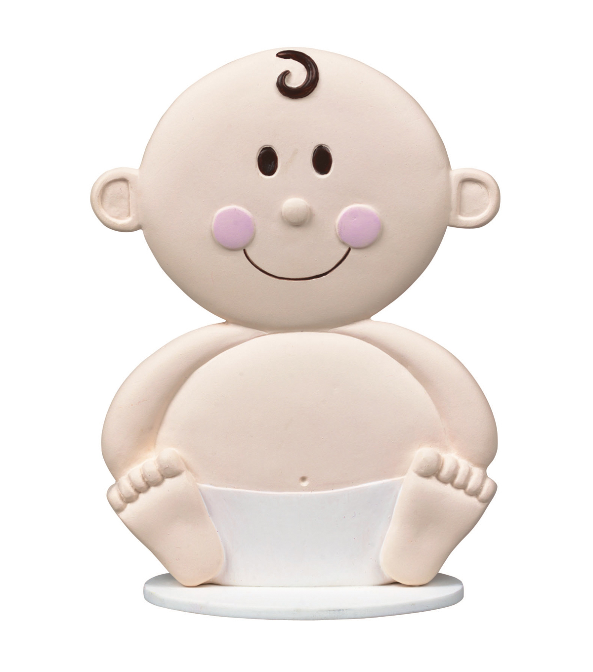 Cake Topper 4\u0022-Baby Face