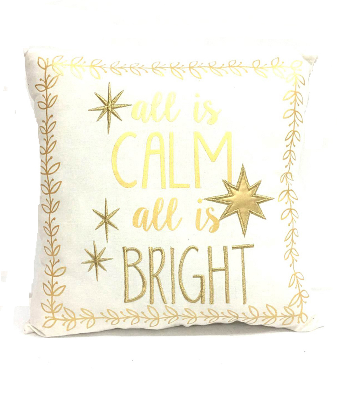 Maker\u0027s Holiday Pillow-All Is Calm