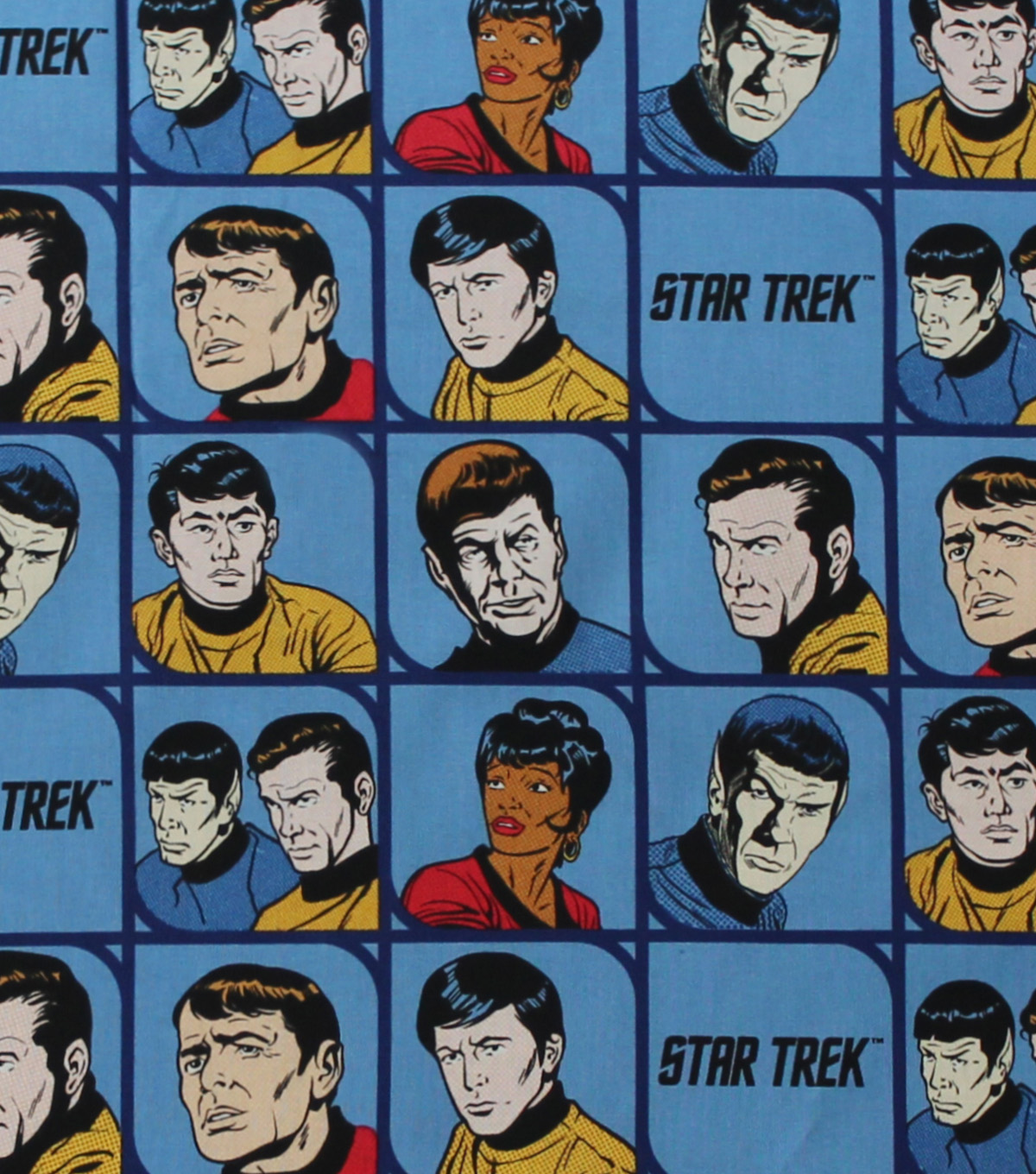 "Star Trek™ Cotton Fabric 44""-Characters"