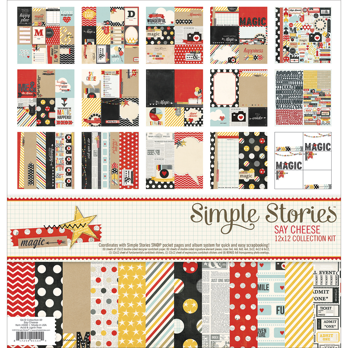 Simple Stories Say Cheese Collection Kit