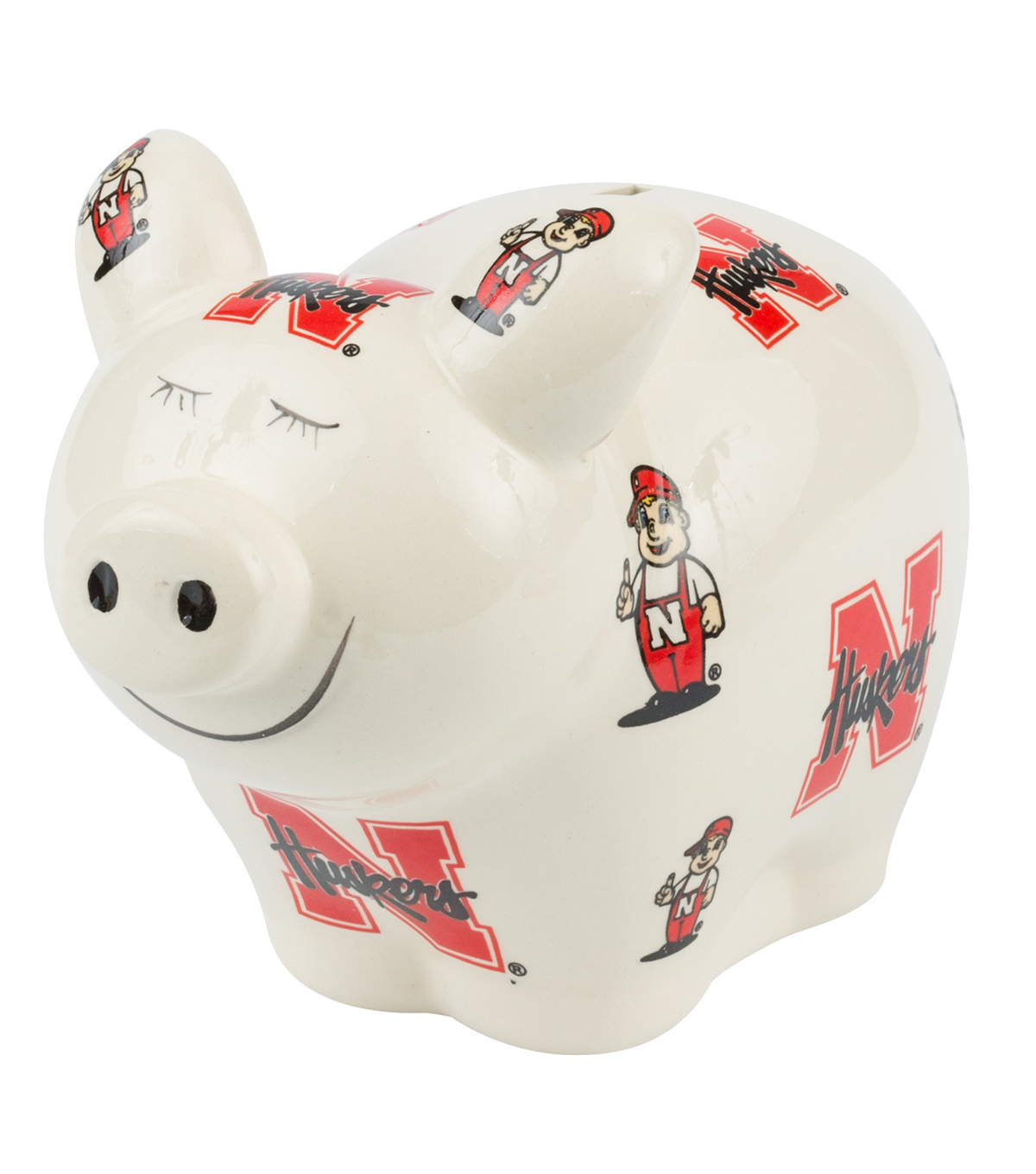 University of Nebraska Cornhuskers Piggy Bank