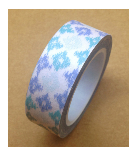 Love My Tapes Washi Tape 0.5\u0027\u0027x10 yds-Blue & Teal