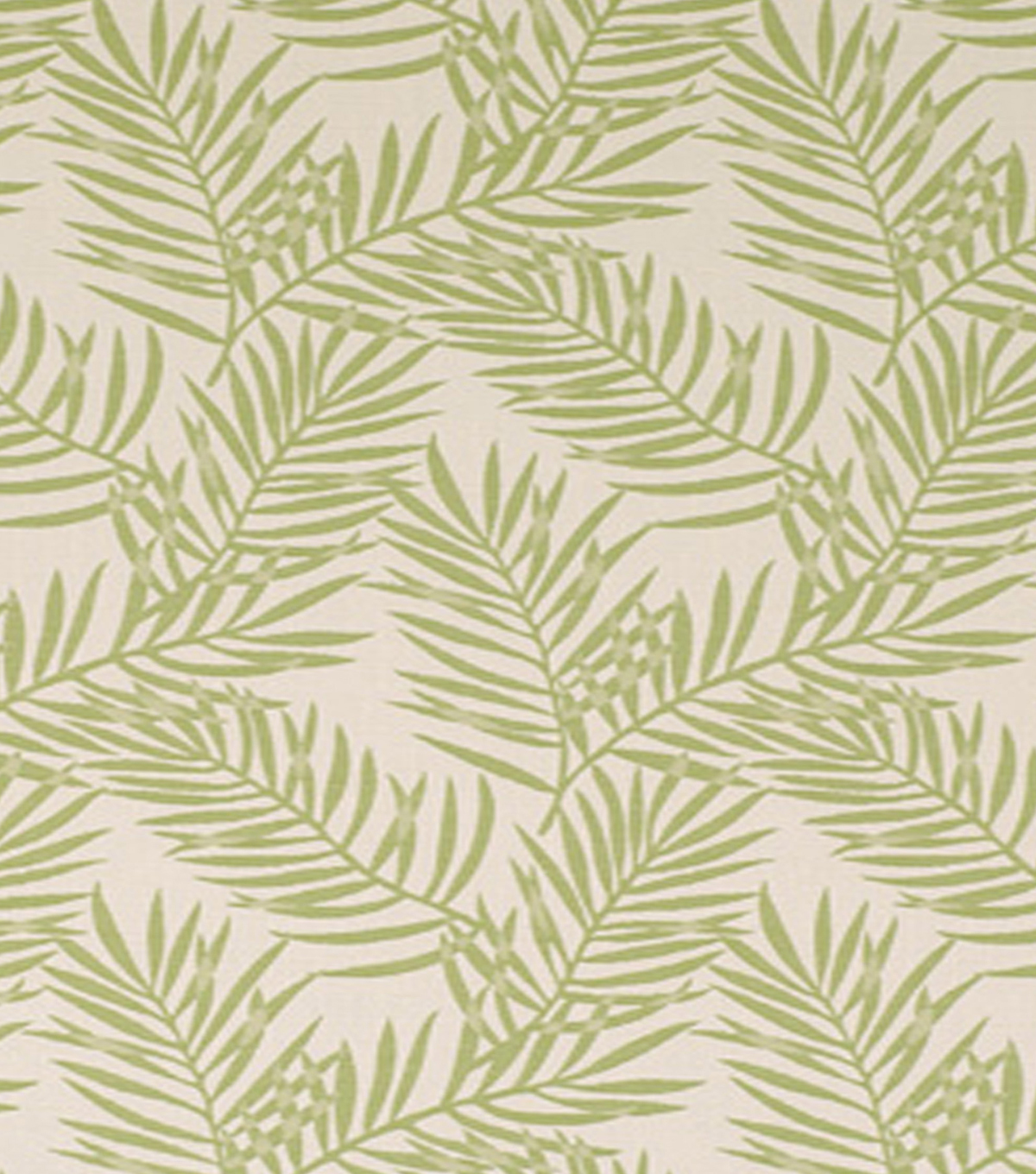 Home Decor 8\u0022x8\u0022 Fabric Swatch-Outdoor FabricMorro Bay Palm Green