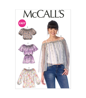 McCall's Misses Top-M7163