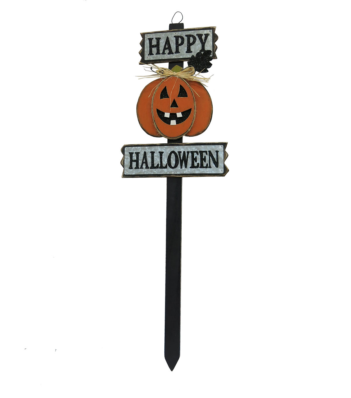 Maker's Halloween Wood Yard Stake-Happy Halloween