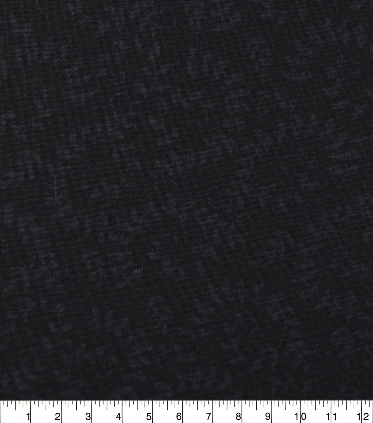 Wide Quilt Cotton Backing Fabric 108\u0022-Black Scroll