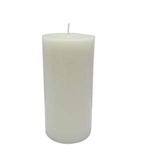 Maker's Holiday 3''x6'' Pillar Candle-Cream