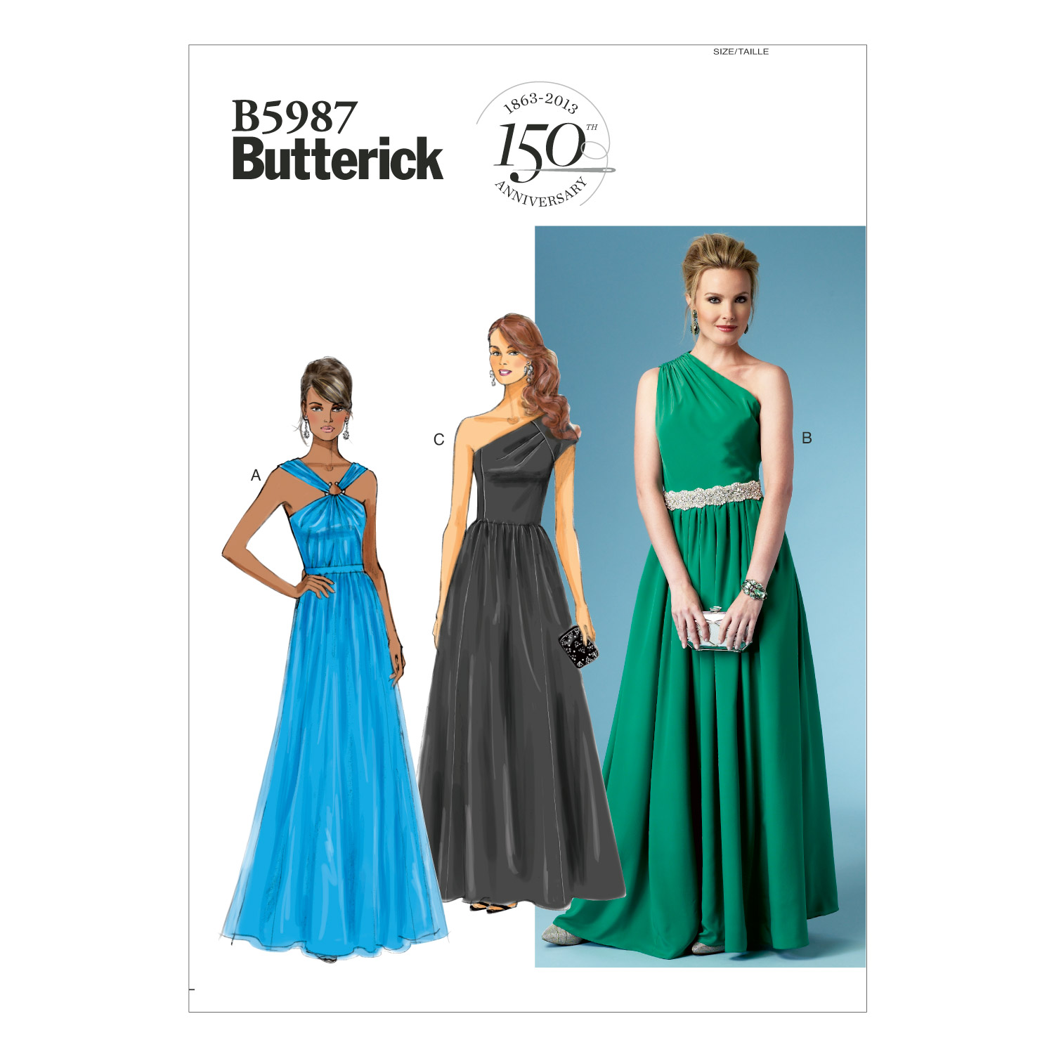 Butterick Misses Special Occasion-B5987