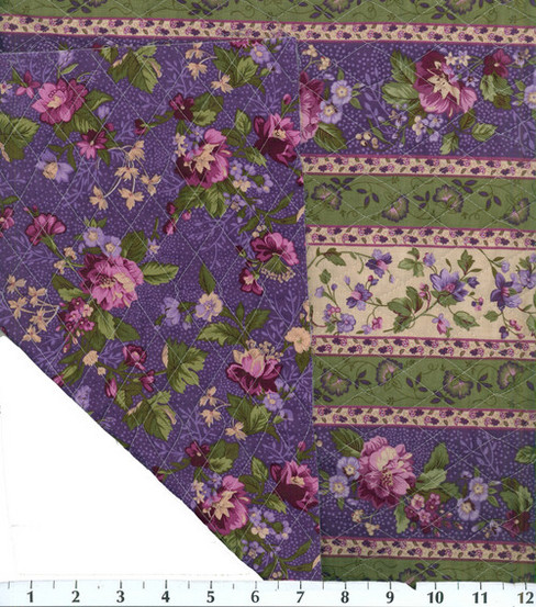 Double Face Quilt Fabric-Purple Cntry French   JOANN : quilted fabric joann - Adamdwight.com