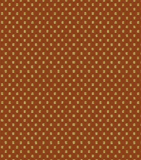 "Home Decor 8""x8"" Fabric Swatch-Prussian Dot Spice"