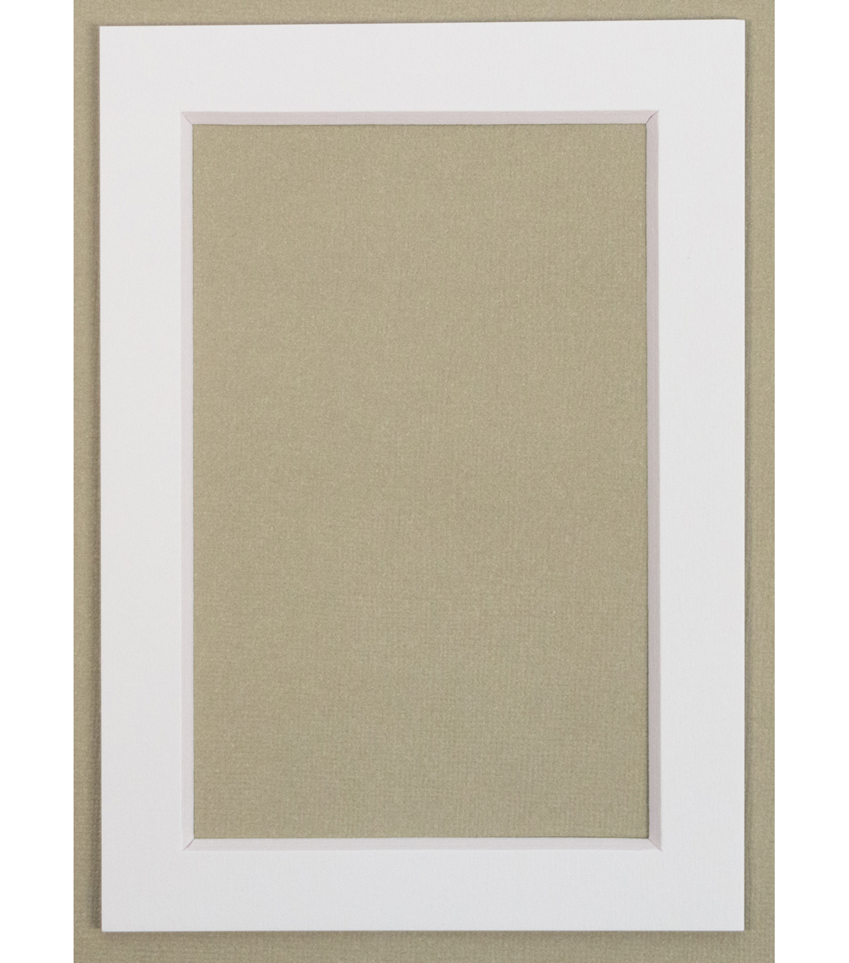 Framing Mats 5X7-White