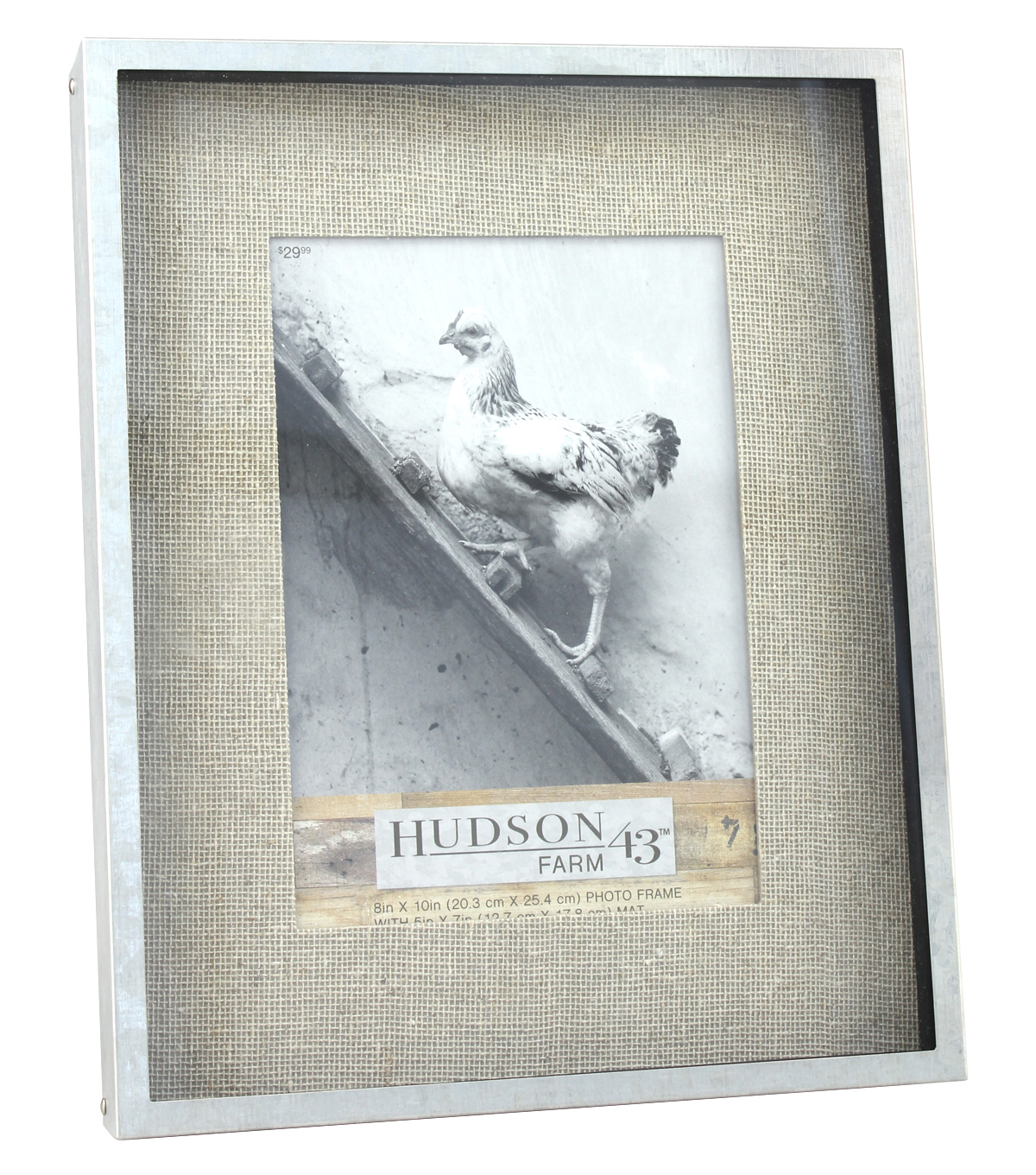 Hudson 43 Farm 5\u0027\u0027x7\u0027\u0027 Galvanized Shadow Box Frame