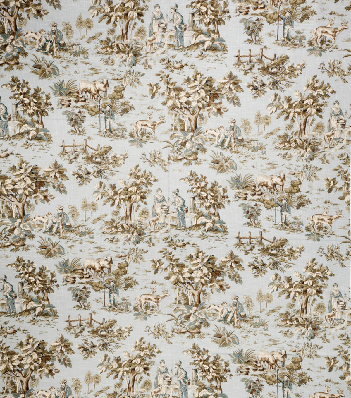 "Jaclyn Smith Upholstery Fabric 54""-Cleo /Robins Egg"