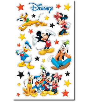 Mickey and Friends Gem Stickers