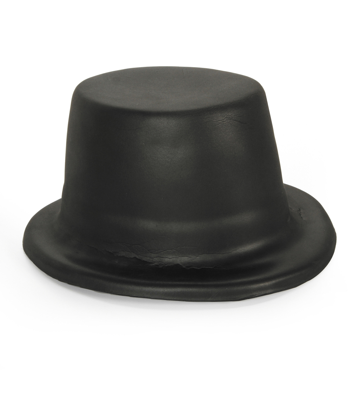 Kids Foam Hat - Black Top Hat