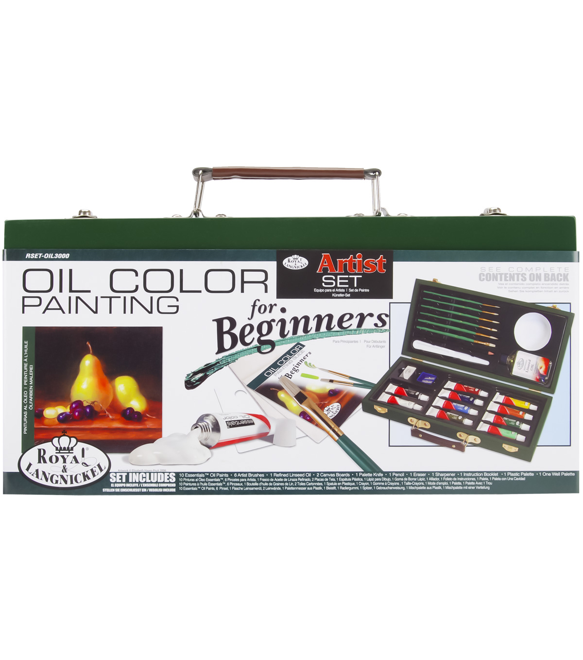 Royal Brush Beginner Oil Painting Set