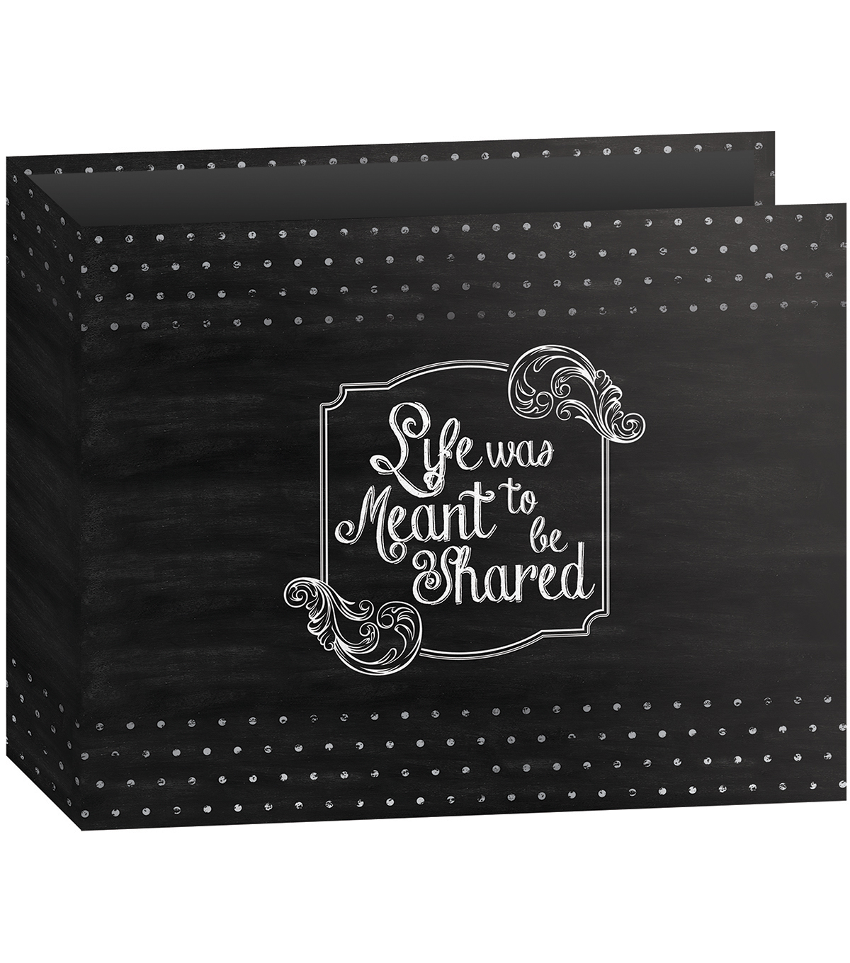 Pioneer 3-Ring Shared Binder Chalkboard Album