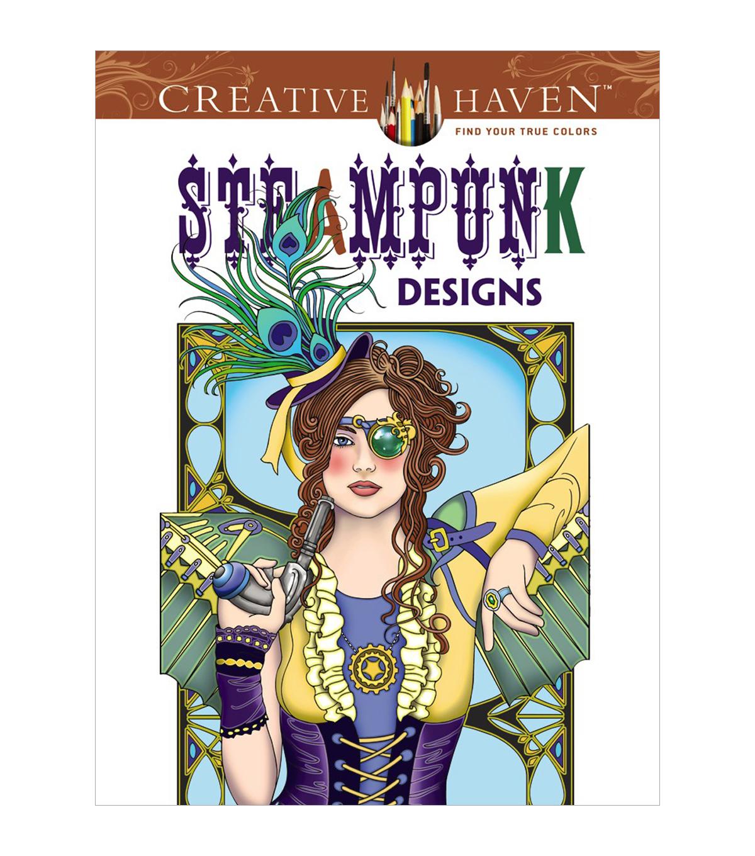 Dover Creative Haven Steampunk Designs Coloring Book