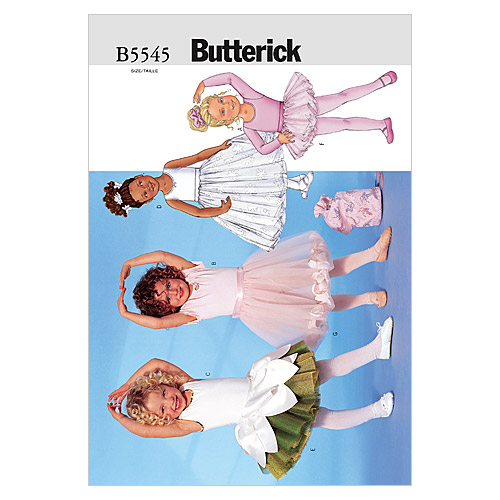 Butterick Child Costumes-B5545