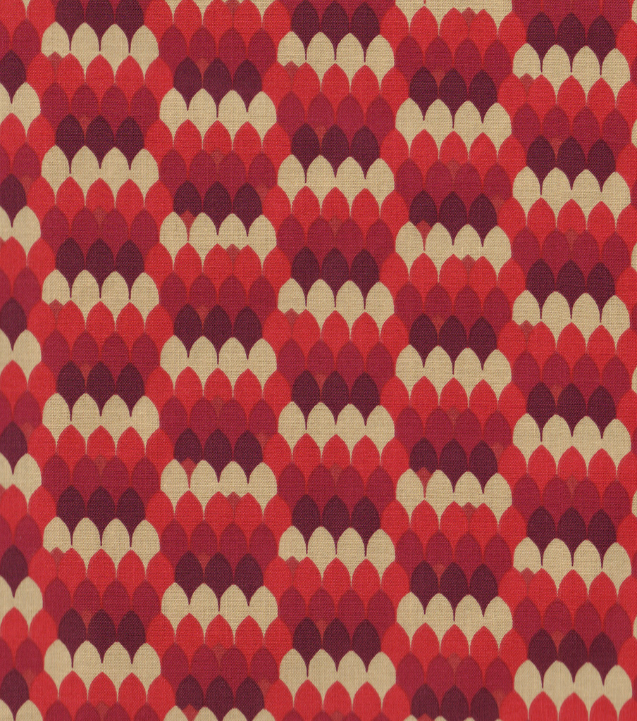 Keepsake Calico™ Cotton Fabric 44\u0022-Dragon Garnet