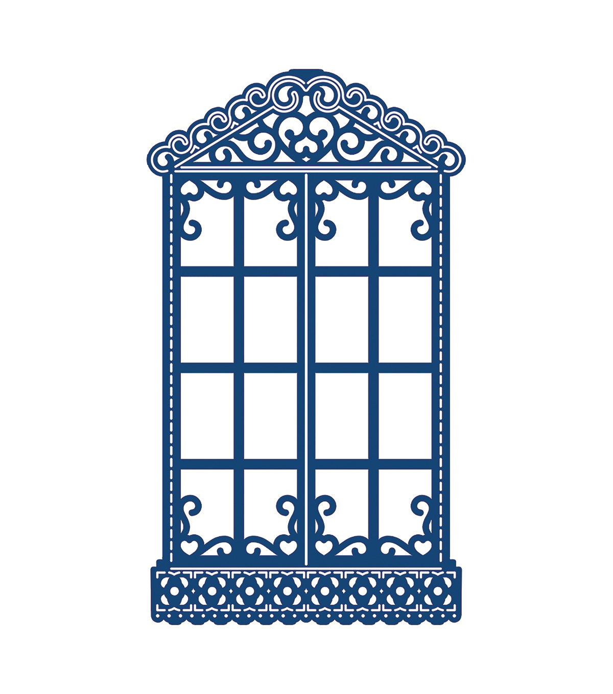 Tattered Lace Metal Die-Window