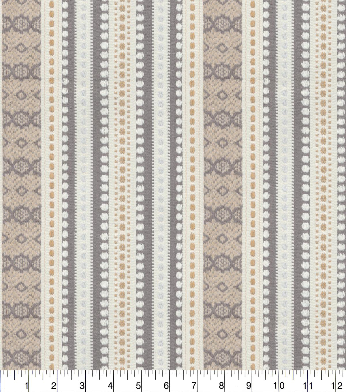 Genevieve Gorder Upholstery Fabric 54\u0027\u0027-Dusk Ancient Stripe