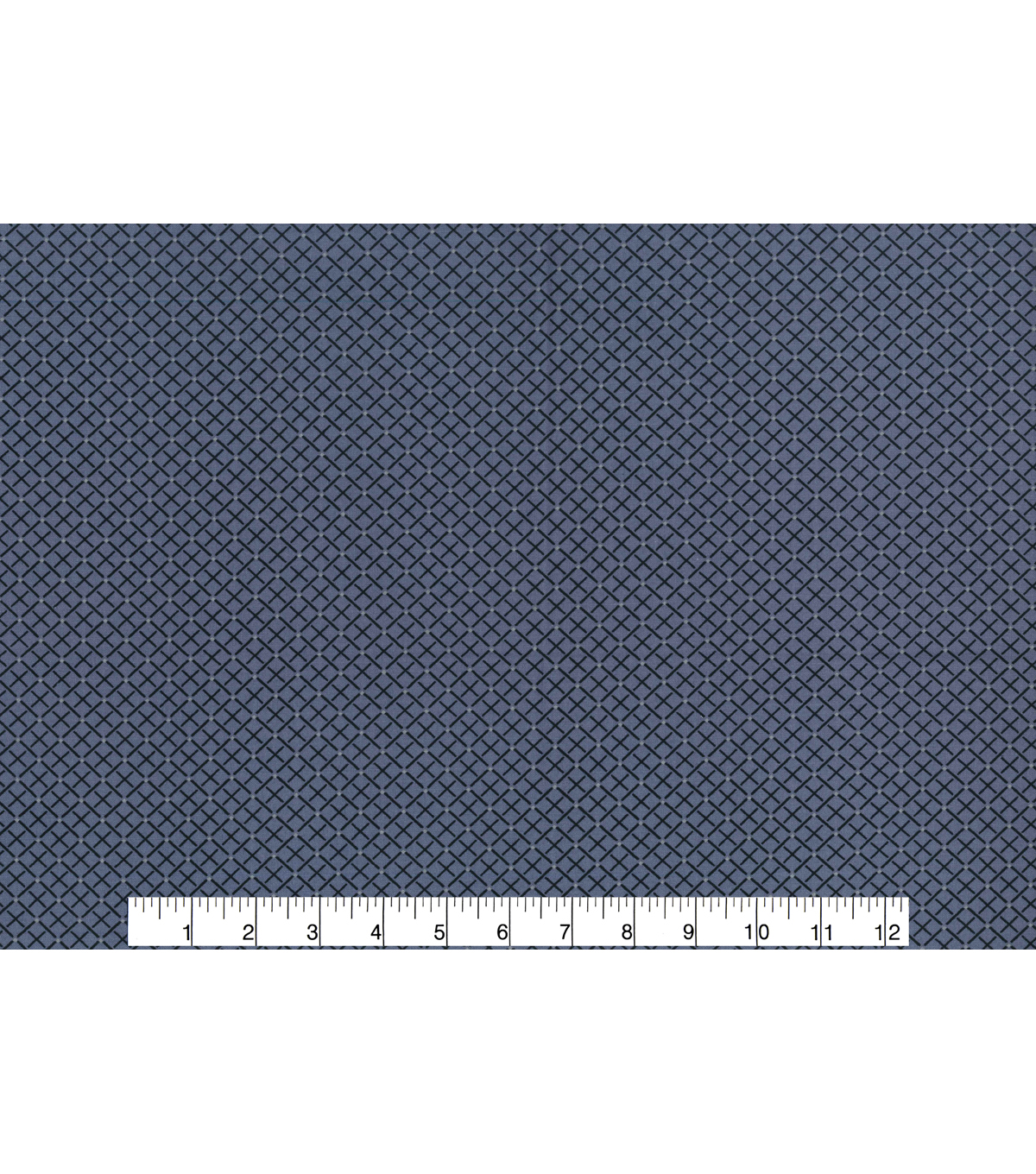 Keepsake Calico™ Cotton Fabric 43\u0022-Square Navy Black