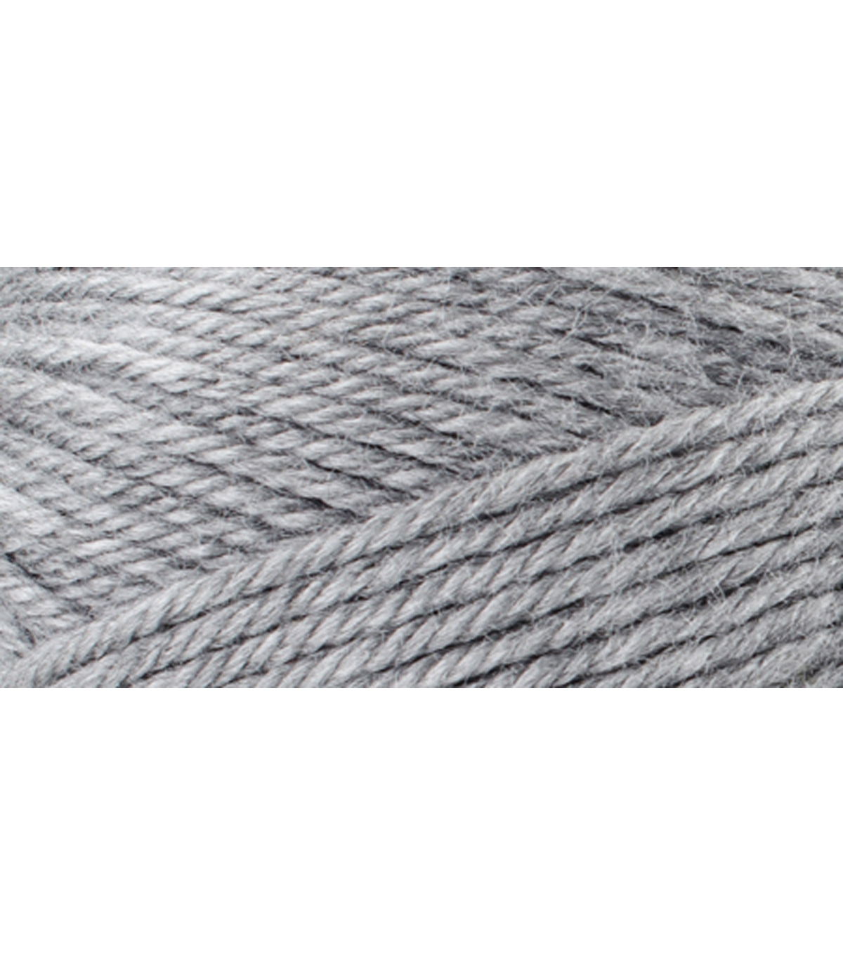 Red Heart Fashion Soft Yarn-Grey Heather