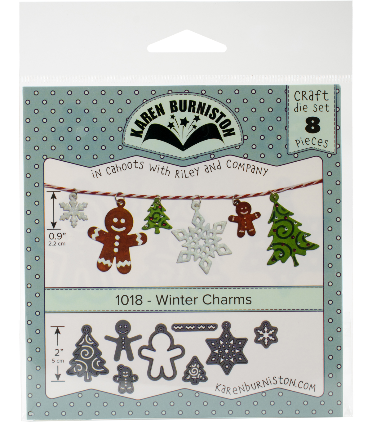 Karen Burniston 8 pk Dies-Winter Charms