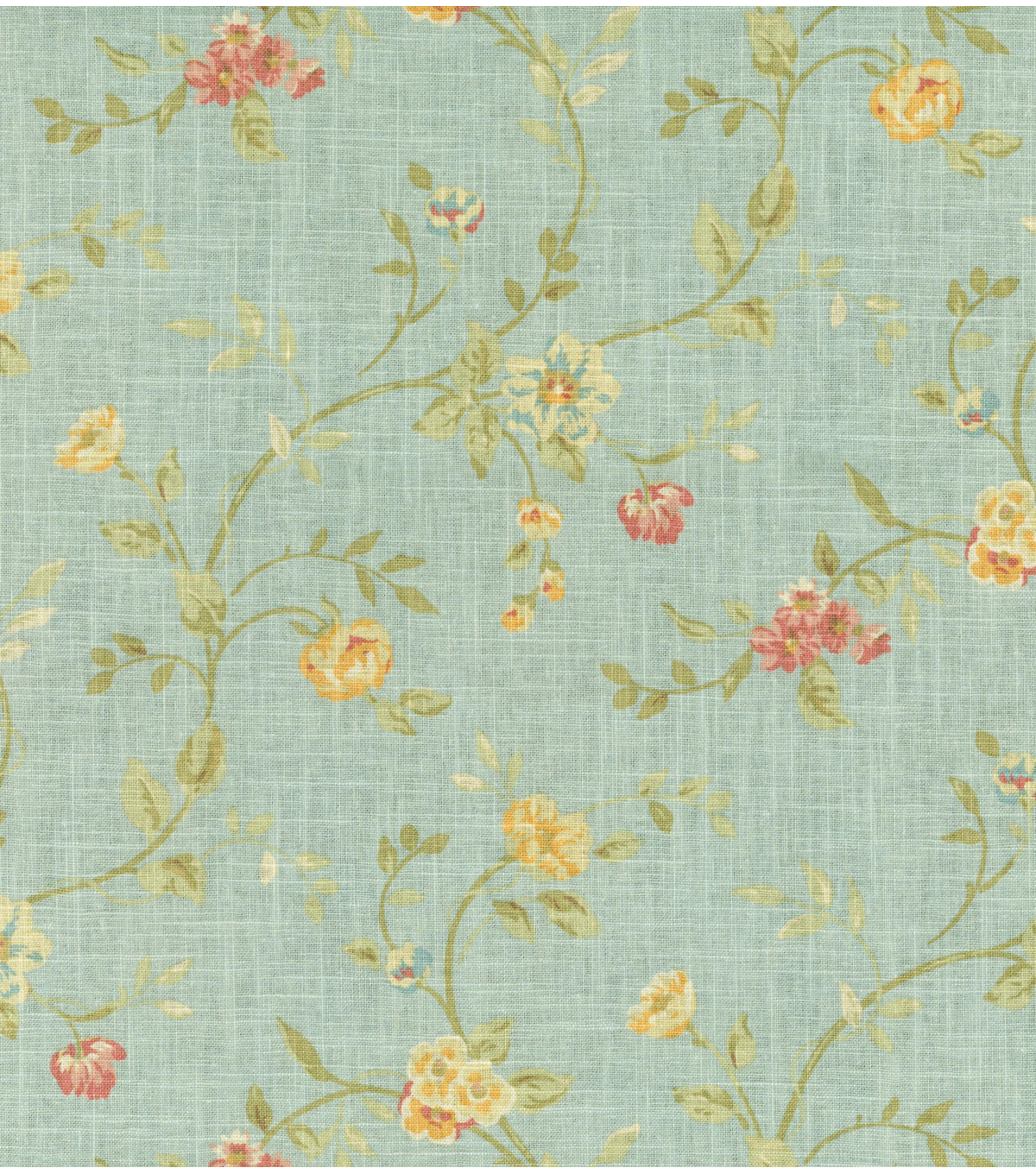 Home Decor 8\u0022x8\u0022 Fabric Swatch-Waverly Garden Glitz Cir Vapor