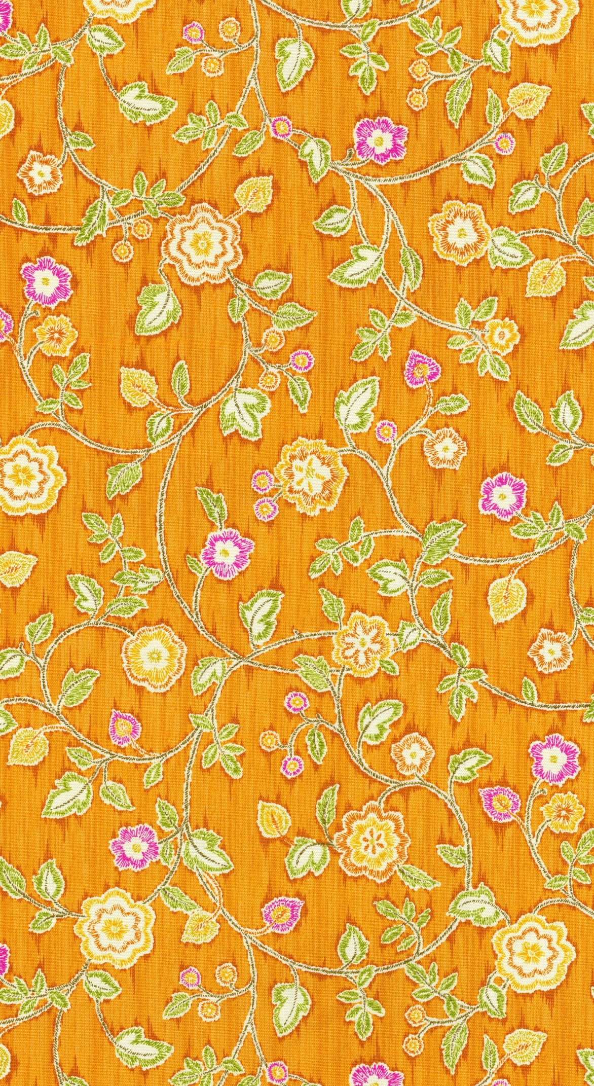 "IMAN Home Print Fabric 54""-Radiant Trail/Nectar"