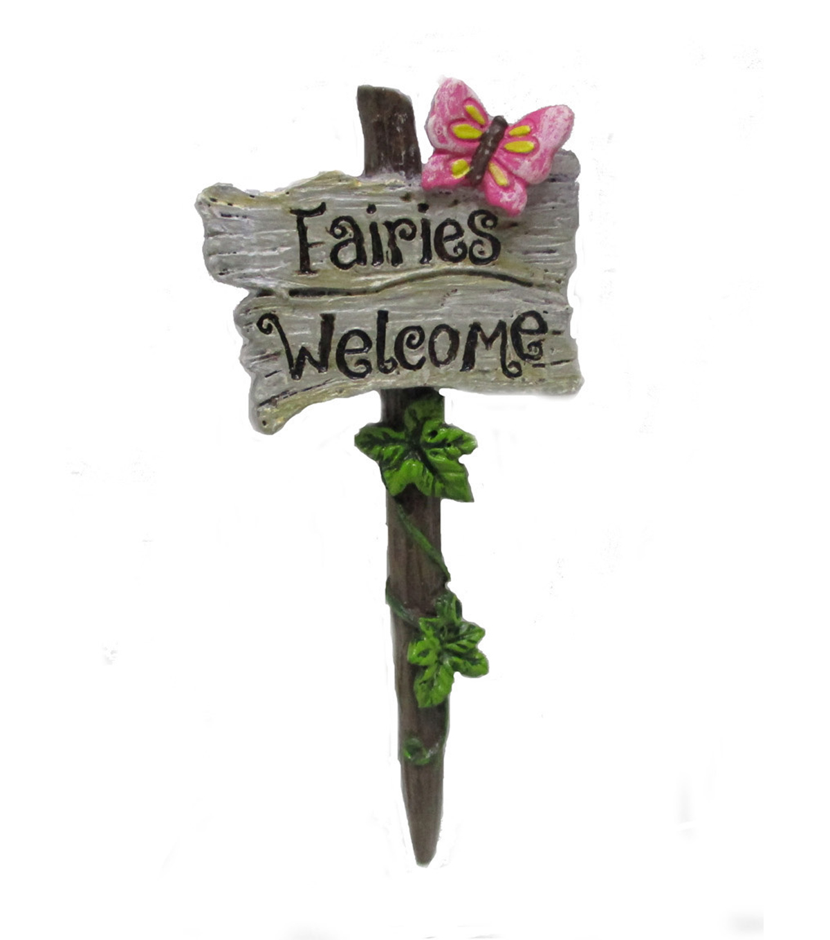 bloom room littles resin sign with butterfly fairies welcome joann