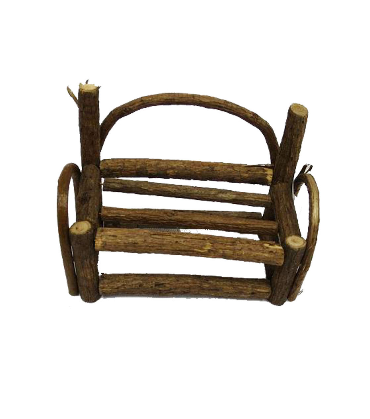 Fairy Garden Rattan Mini Bench