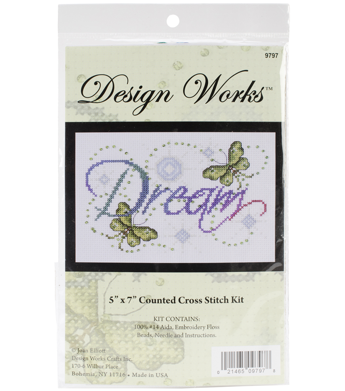 Dream Counted Cross Stitch Kit 14 Count