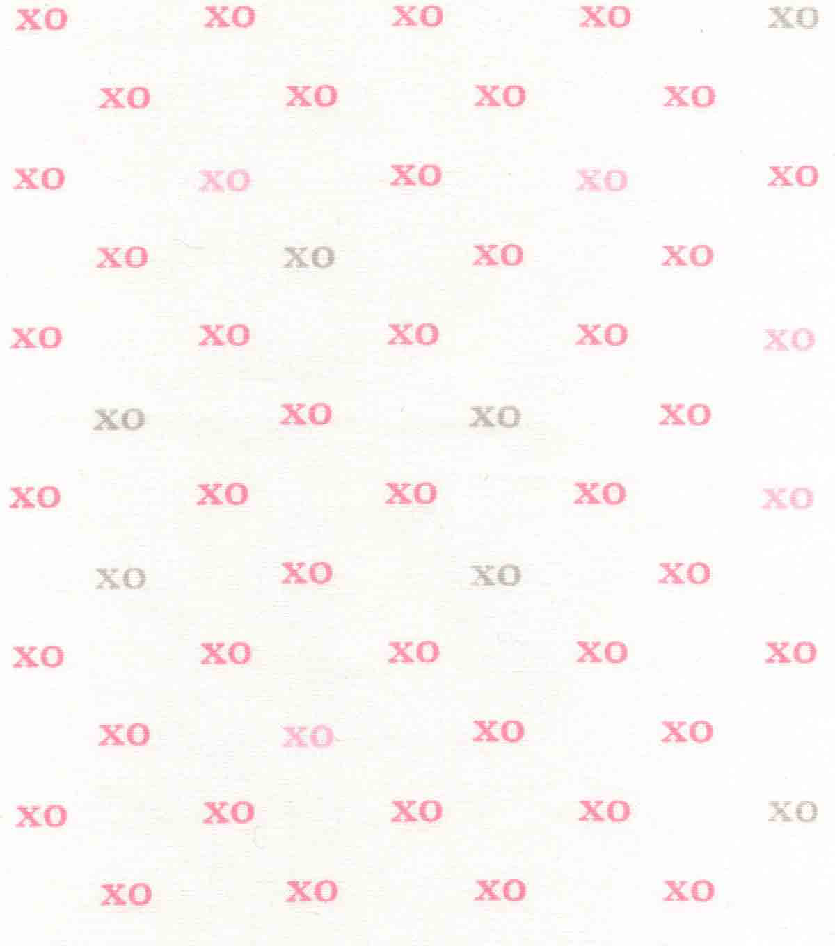 Nursery Cotton Fabric 43\u0027\u0027-Xo Xo