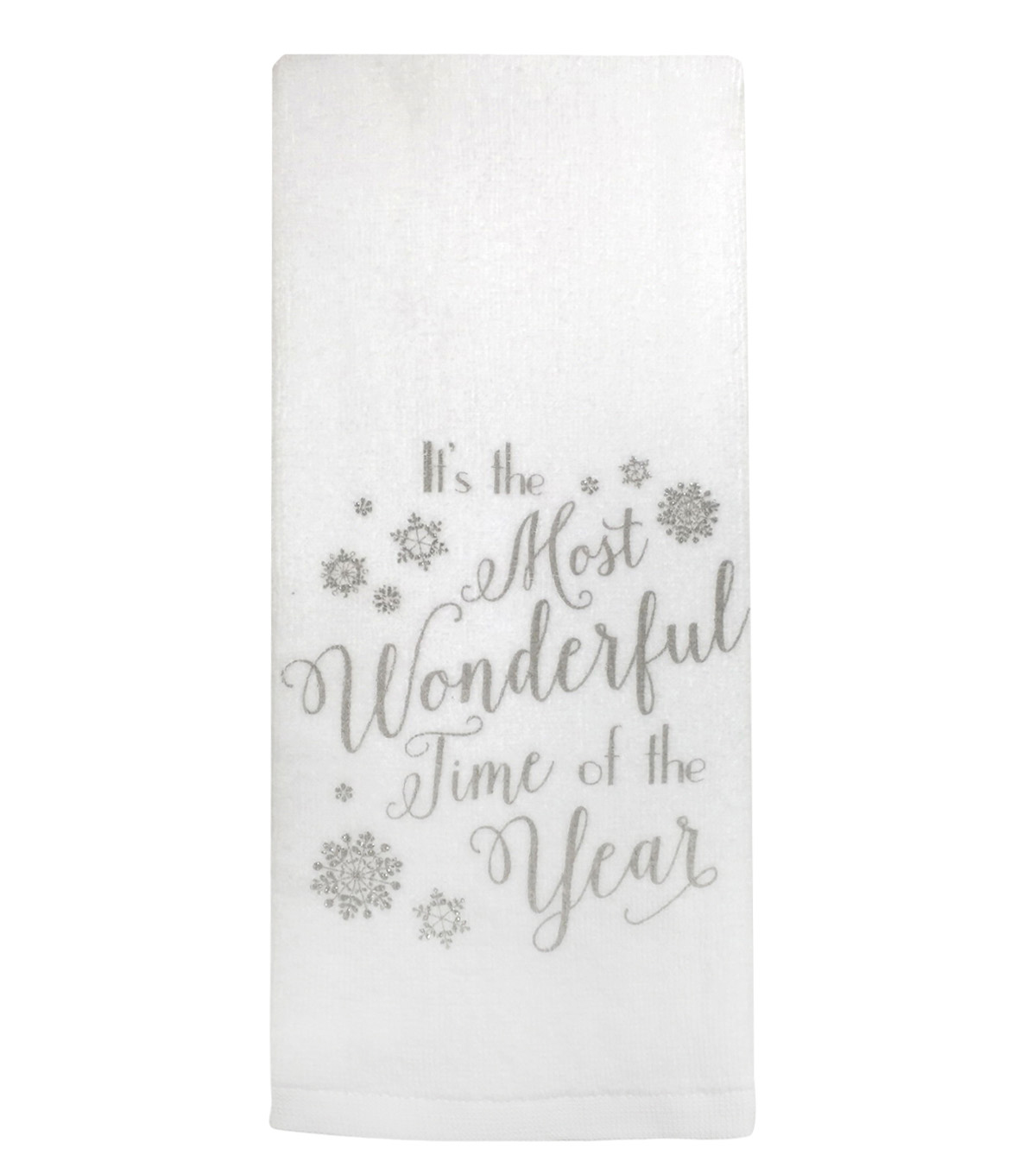 Maker\u0027s Holiday Terry Towel-Wonderful Time