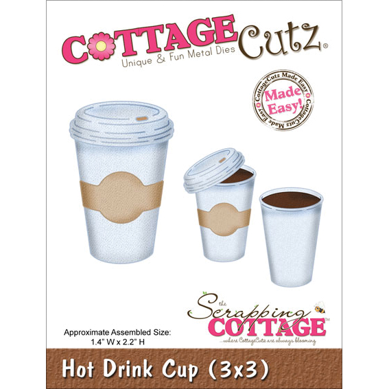 Cottage Cutz Die Hot Drink Cup