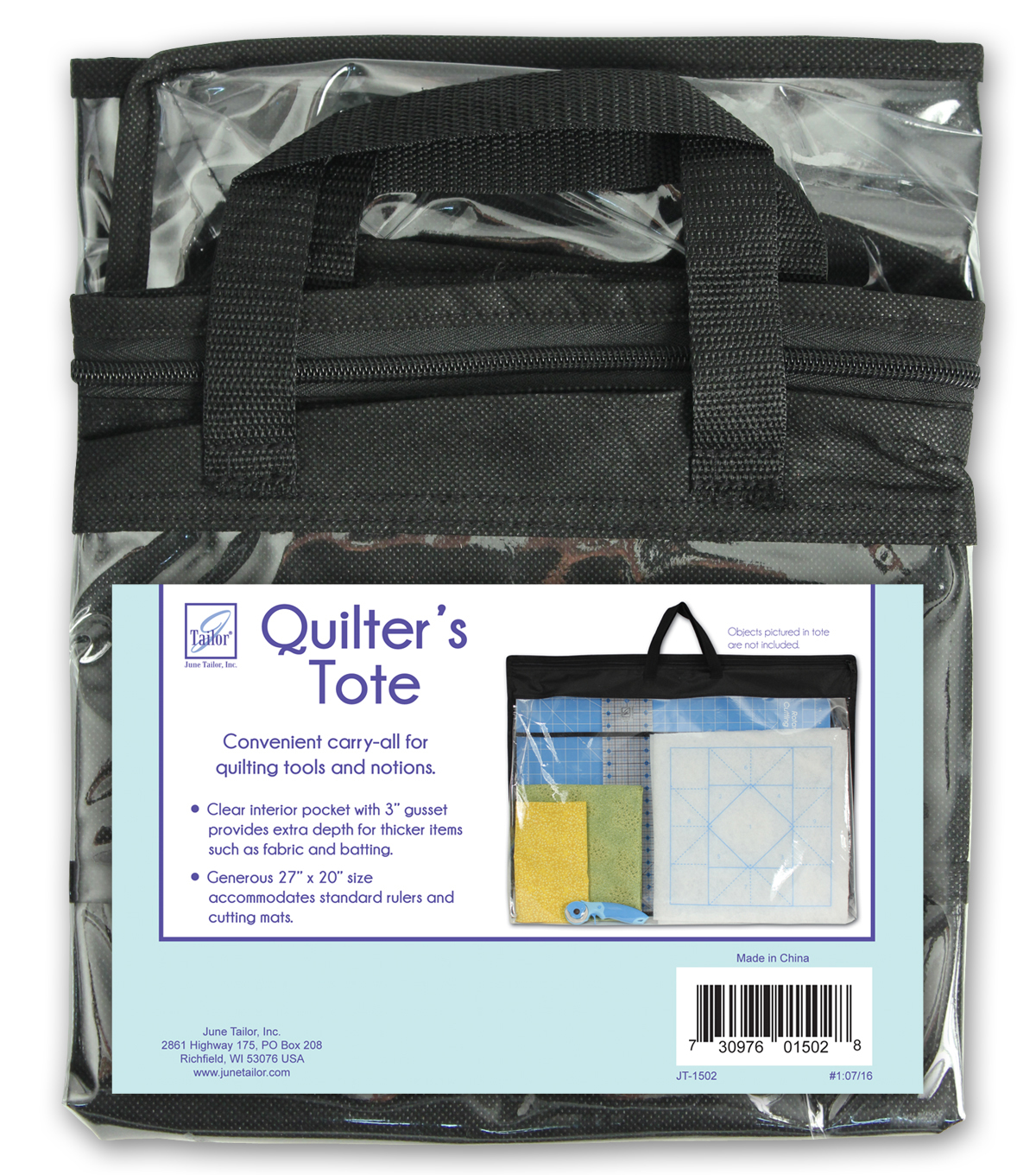 June Tailor® Quilters Tote With Gusset