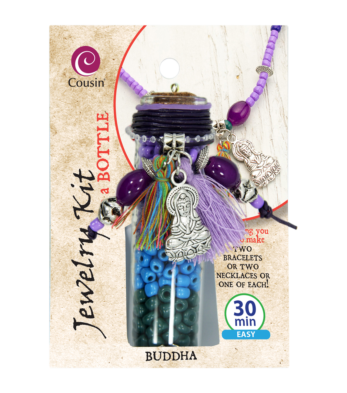 Jewelry Kit In A Bottle-Buddha