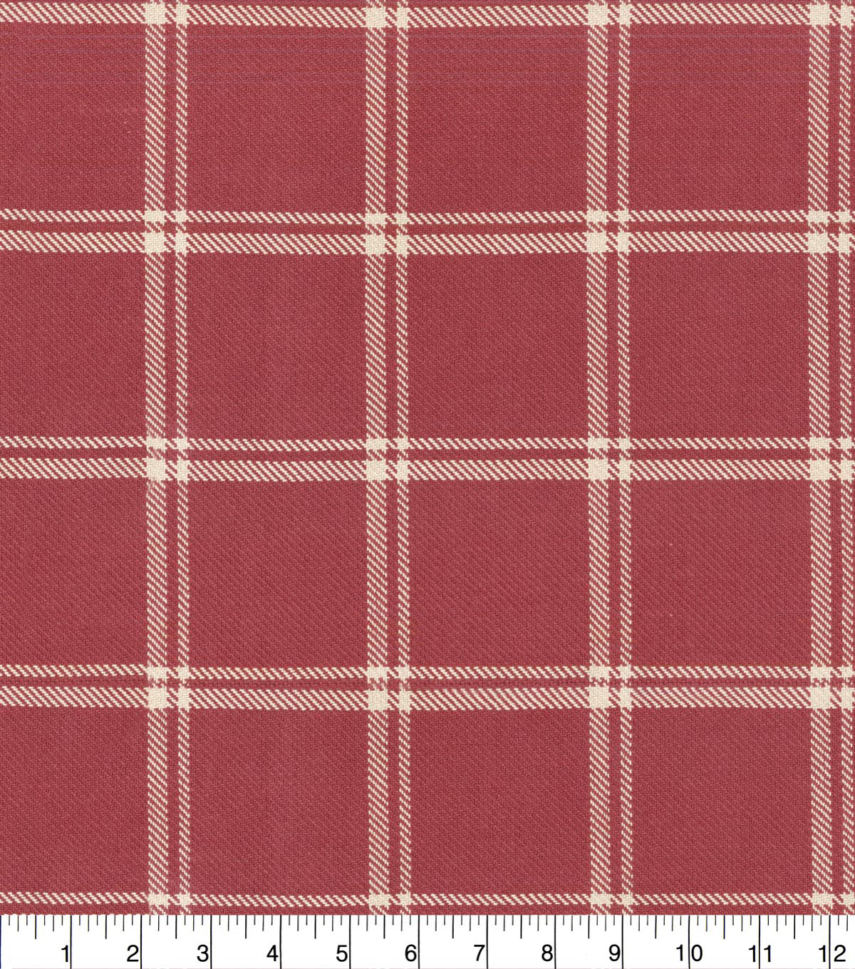Waverly Upholstery Fabric 54''-Cinnabar Bloomsbury Plaid