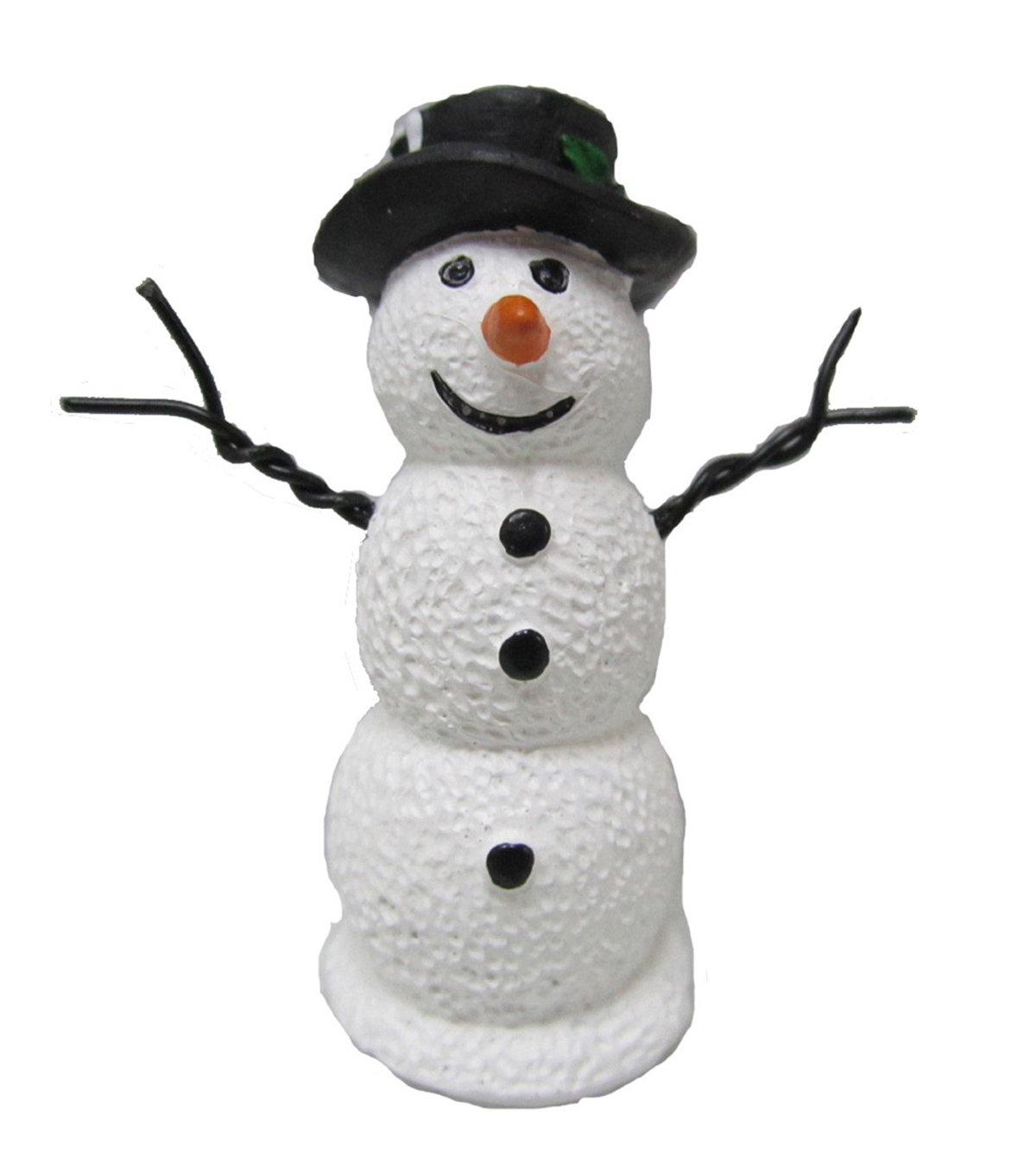 Maker\u0027s Holiday Littles Resin Snowman