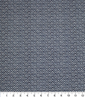 "Home Essentials Print Fabric 45""-Rythym Navy"