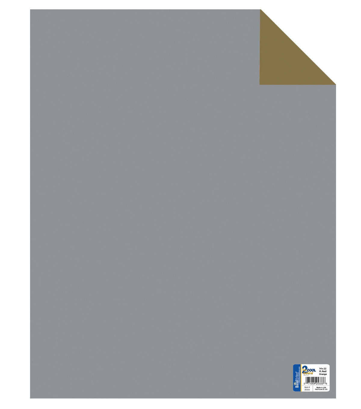 Royal Lace-Posterboard Double-Sided 22\u0022X28\u0022-Gold/Silver