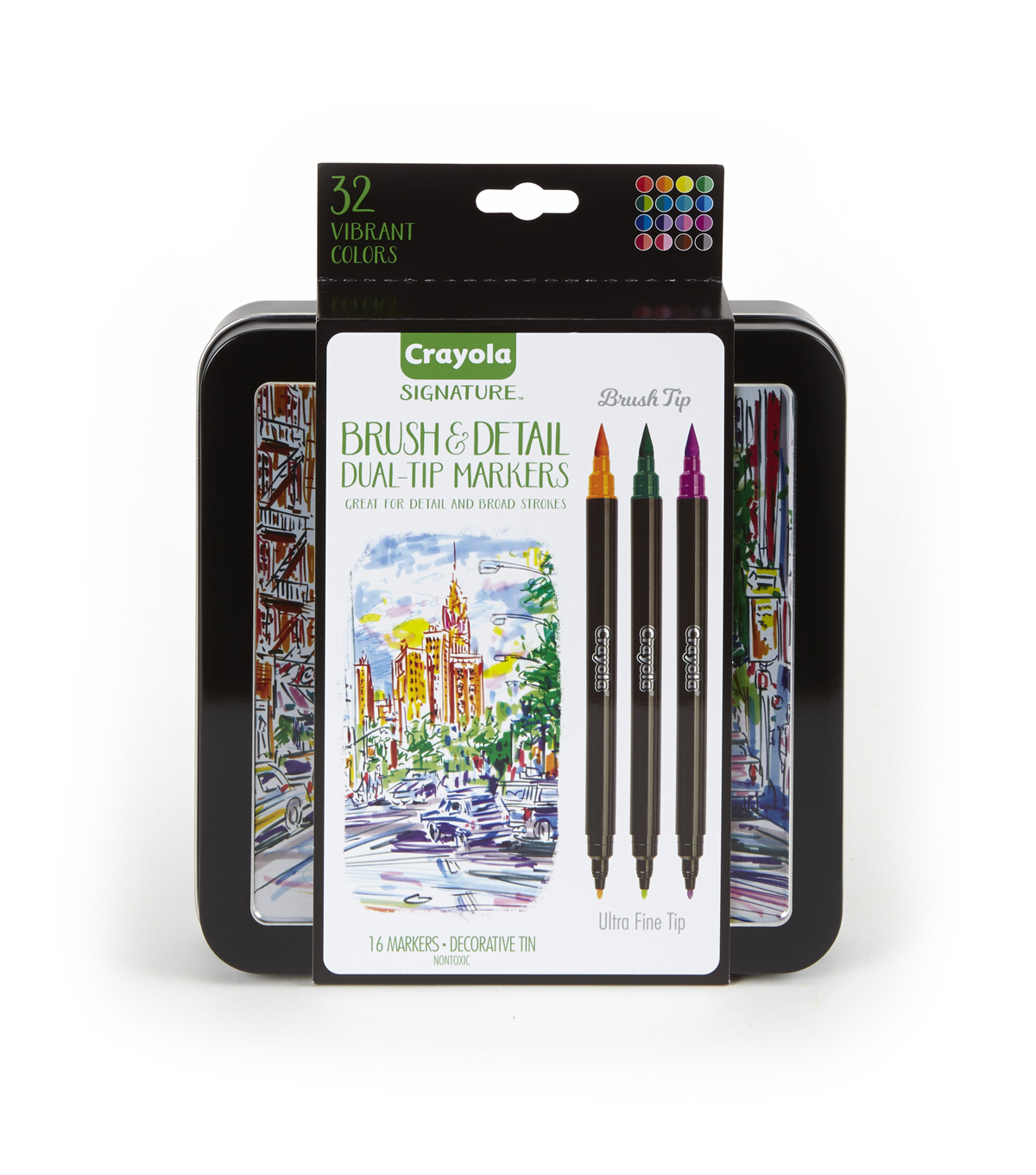 Crayola Signature Dual Ended 16 ct Markers