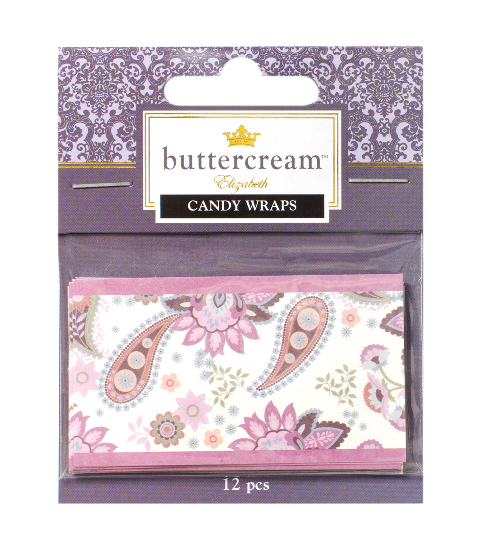 Buttercream™ Elizabeth Collection Pre-printed Candy Wrappers