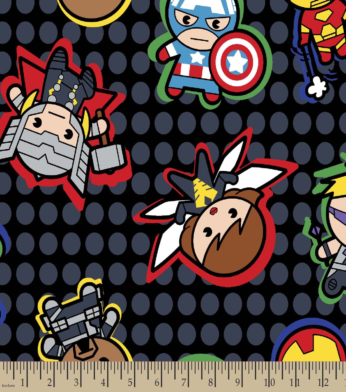 Marvel\u0027s Kawaii Print Fabric-Characters